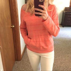 Volcom Off-Shoulder Sweatshirt